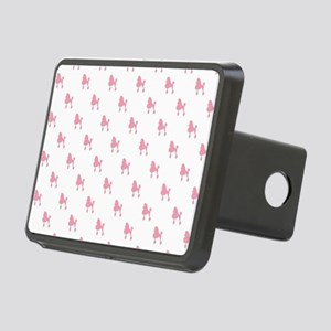 POODLES Rectangular Hitch Cover