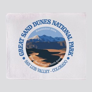 Great Sand Dunes NP Throw Blanket
