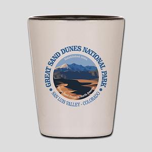 Great Sand Dunes NP Shot Glass