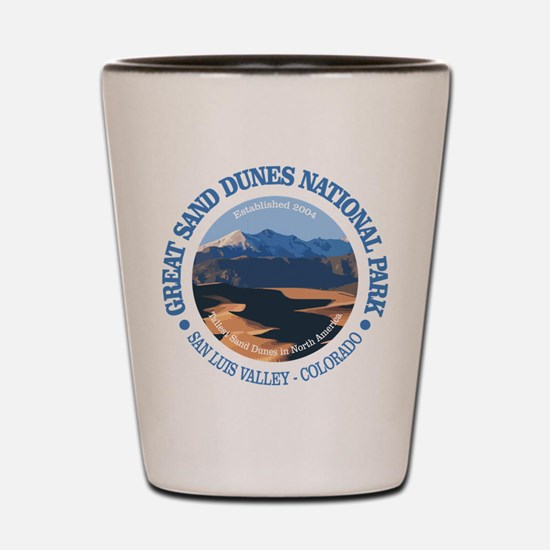 Great Sand Dunes NP Shot Glass