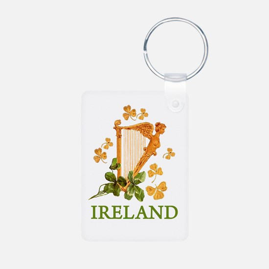 Ireland - Irish Golden Har Keychains