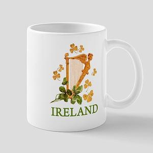 Ireland - Irish Golden Harp Mug
