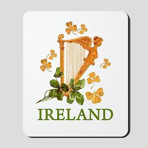 Ireland - Irish Golden Harp Mousepad