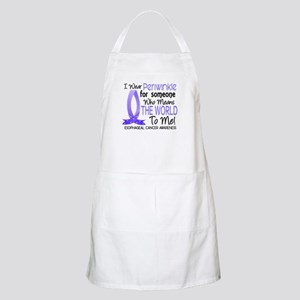 Means World To Me 1 Esophageal Cancer Apron