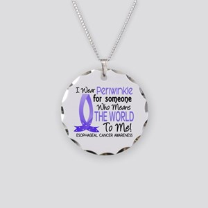 Means World To Me 1 Esophageal Cancer Necklace Cir
