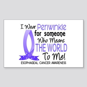 Means World To Me 1 Esophageal Cancer Sticker (Rec