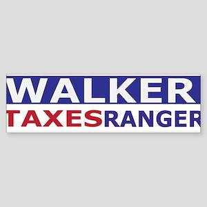 taxes ranger accessories Sticker (Bumper)