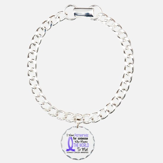 Means World To Me 1 Stomach Cancer Bracelet