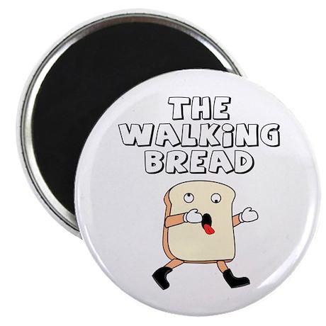 The Walking Bread Magnet