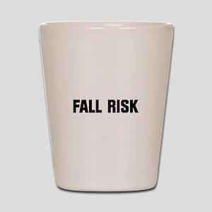 Fall Risk Shot Glass
