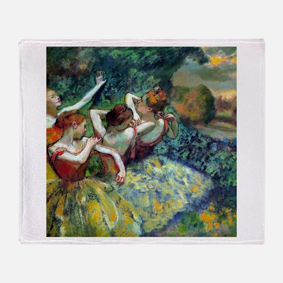 Dancers Throw Blanket
