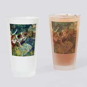 Dancers Drinking Glass