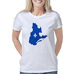 CarteQc1AvecLysPMS293 Women's Classic T-Shirt