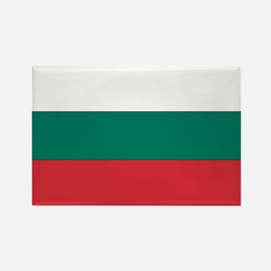 Bulgaria Rectangle Magnet