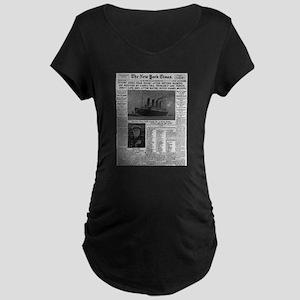 Milwaukee Sentinel Maternity Dark T-Shirt