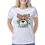 corgi-bighead Women's Classic T-Shirt
