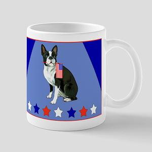 boston terrier stars Mug