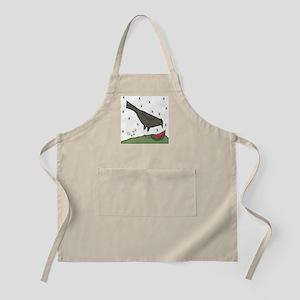 Folkart Crow BBQ Apron
