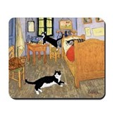 Funny animals Mouse Pads