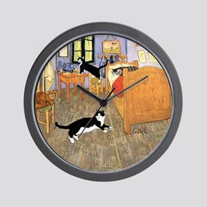 Vincent's CATS Wall Clock