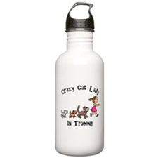 Crazy Cat Lady In Training Stainless Water Bottle