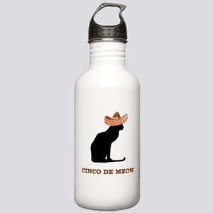 Cinco de Meow Stainless Water Bottle 1.0L