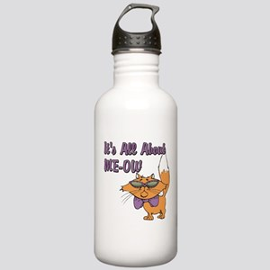 It's All About Me Cat Stainless Water Bottle 1.0L