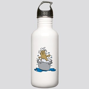 Cat Bath II Stainless Water Bottle 1.0L
