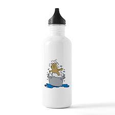 Cat Bath II Stainless Water Bottle 1.0L