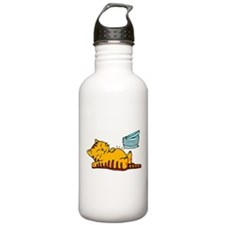 Funny Fat Cat Stainless Water Bottle 1.0L