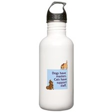 Cats vs. Dogs Stainless Water Bottle 1.0L