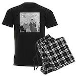 Bible Study Men's Dark Pajamas