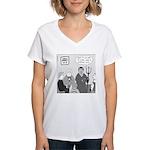 Bible Study Women's V-Neck T-Shirt