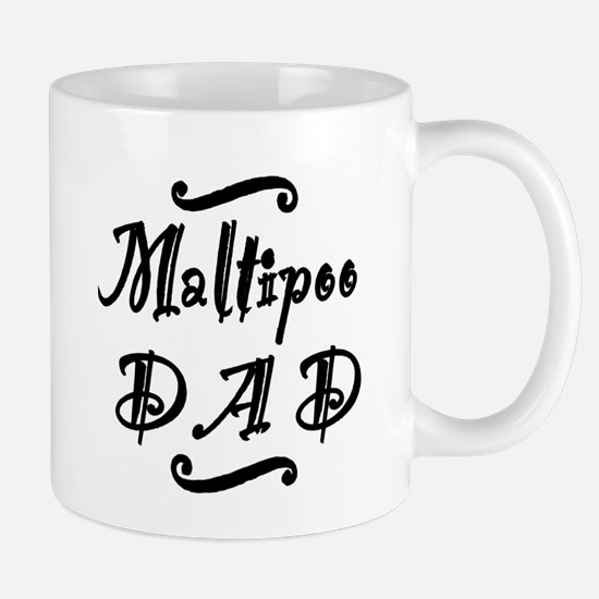 Maltipoo DAD Mug