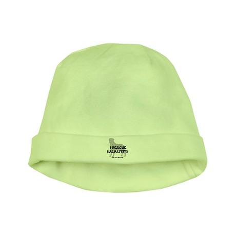 I RESCUE Bullmastiffs baby hat