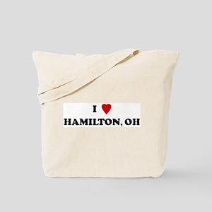 I Love Hamilton Tote Bag