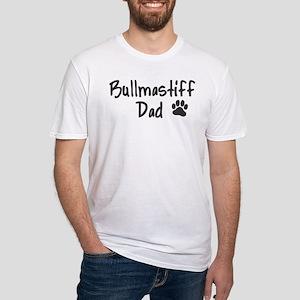 Bullmastiff DAD Fitted T-Shirt