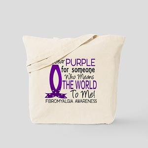 Means World To Me 1 Fibromyalgia Shirts Tote Bag