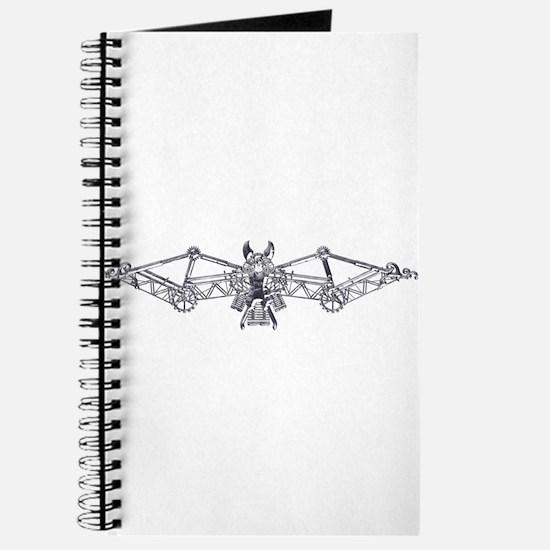 Industrial bat (silver) Journal