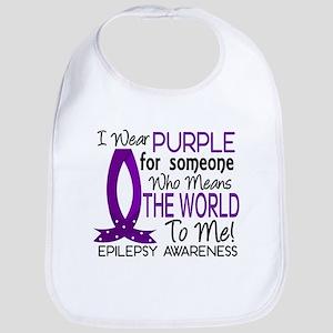 Means World To Me 1 Epilepsy Shirts Bib