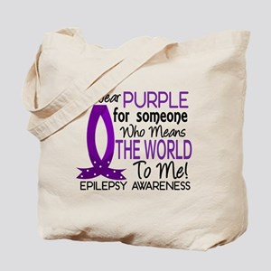 Means World To Me 1 Epilepsy Shirts Tote Bag
