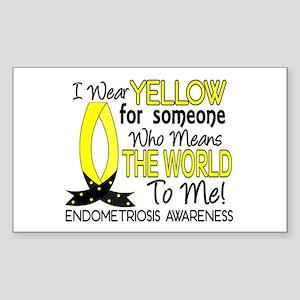 Means World To Me 1 Endometriosis Shirts Sticker (