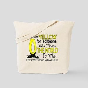 Means World To Me 1 Endometriosis Shirts Tote Bag
