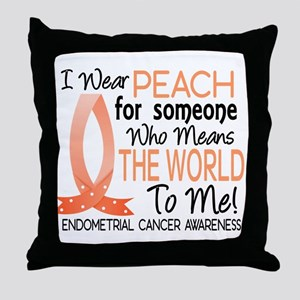 Means World To Me 1 Endometrial Cancer Shirts Thro