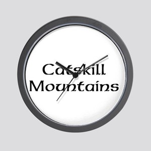 Catskill Mountains Wall Clock
