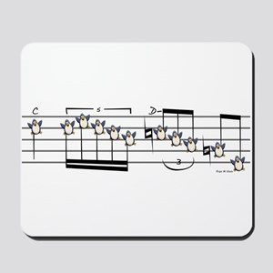 Musical Penguin Mousepad