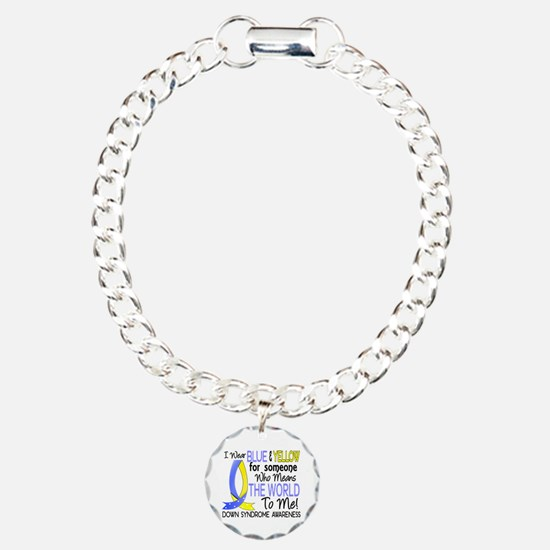 Means World To Me 1 Down Syndrome Shirts Bracelet