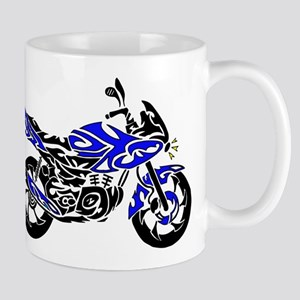 Tribal Motorcycle Mug