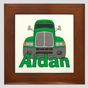 Trucker Aidan Framed Tile