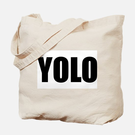YOLO (You Only Live Once) Tote Bag